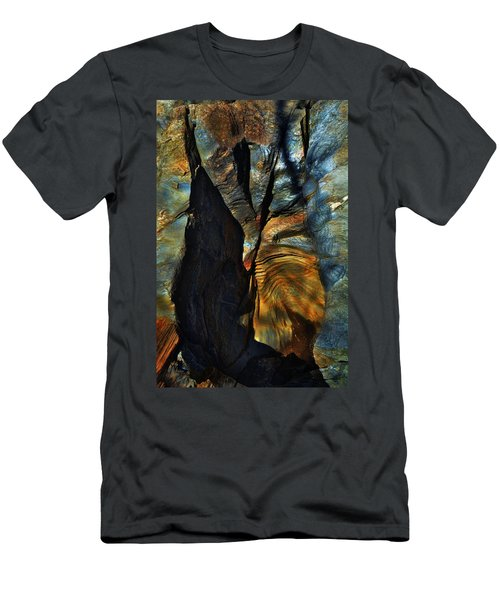 Men's T-Shirt (Athletic Fit) featuring the photograph Faces by EDi by Darlene