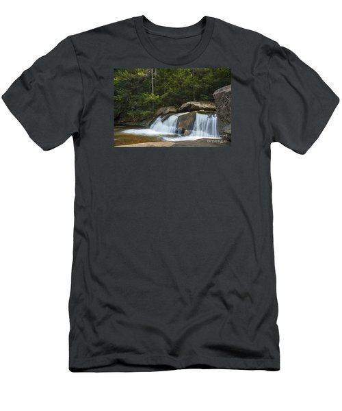 Men's T-Shirt (Slim Fit) featuring the photograph Falls by Alana Ranney