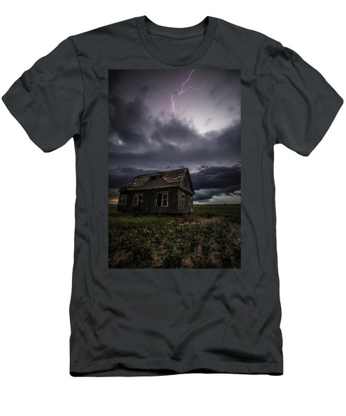 Men's T-Shirt (Athletic Fit) featuring the photograph Fear by Aaron J Groen