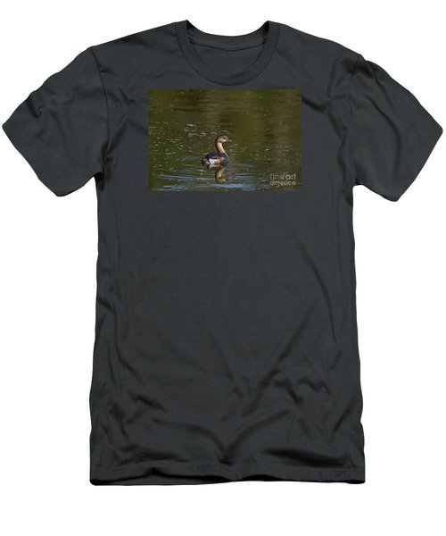 Feathered Friend Men's T-Shirt (Slim Fit) by Kathy Gibbons