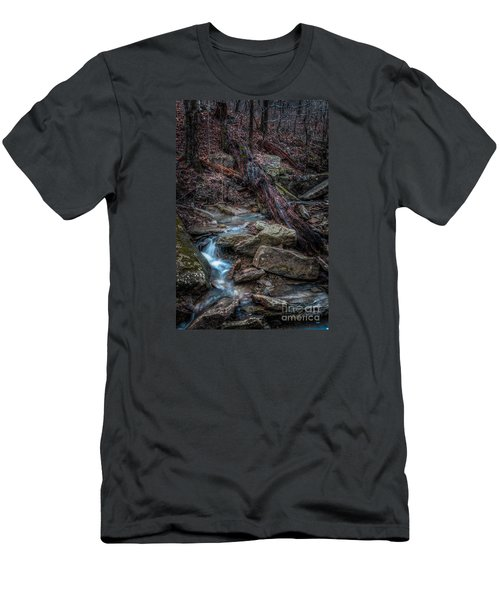Feeder Creek Men's T-Shirt (Athletic Fit)