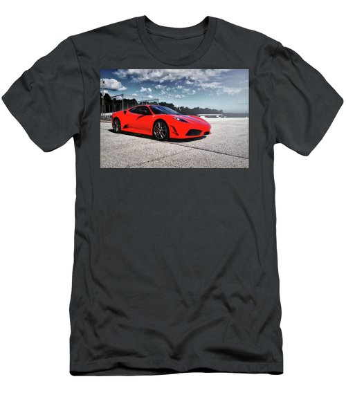 Men's T-Shirt (Slim Fit) featuring the photograph Ferrari F430 by Joel Witmeyer