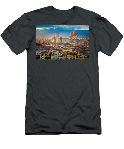 Firenze Duomo Men's T-Shirt (Athletic Fit)