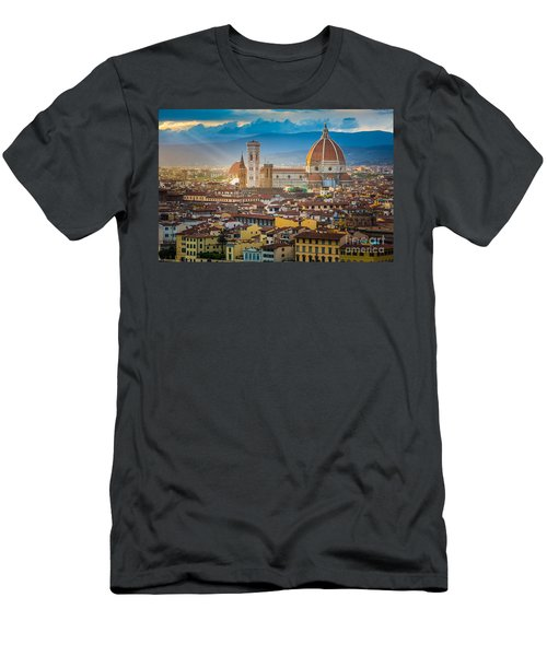 Firenze Duomo Men's T-Shirt (Athletic Fit)