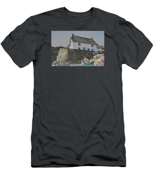 Fishermans Cottage Men's T-Shirt (Slim Fit)