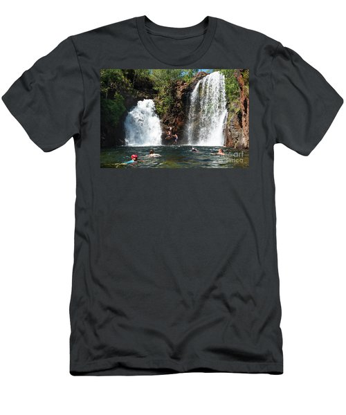 Florence Falls Men's T-Shirt (Athletic Fit)
