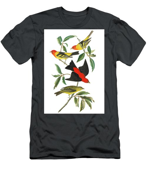 Men's T-Shirt (Slim Fit) featuring the photograph Flying Away by Munir Alawi