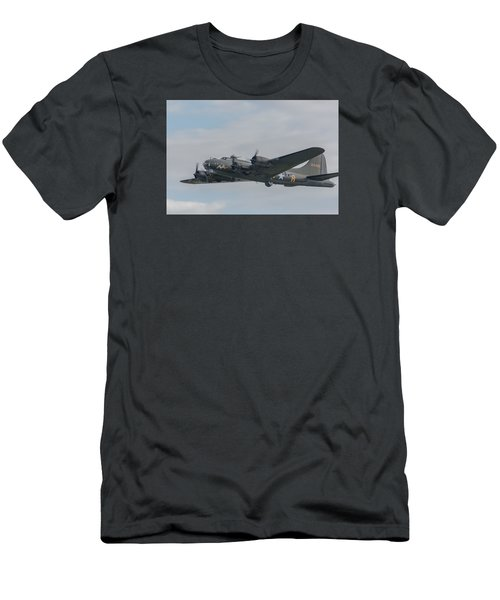 Flying Fortress Sally B Men's T-Shirt (Athletic Fit)