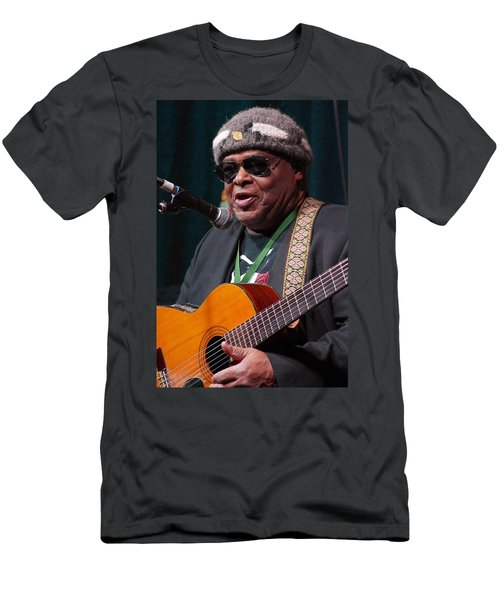 Folk Alliance 2014 Men's T-Shirt (Slim Fit) by Jim Mathis