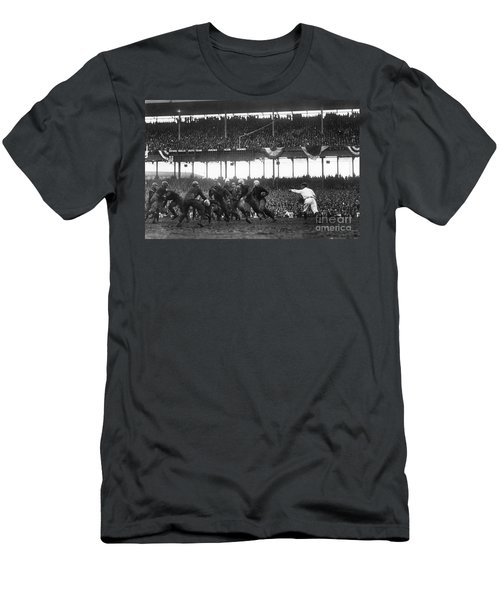 Football Game, 1925 Men's T-Shirt (Athletic Fit)