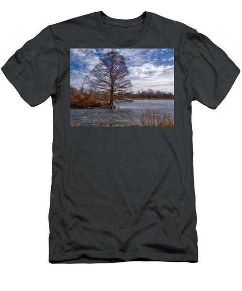 Frozen Lake Men's T-Shirt (Athletic Fit)