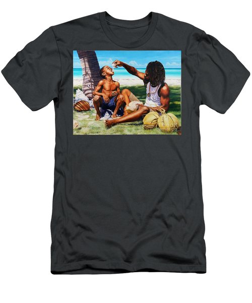 Generations Caring Sharing Men's T-Shirt (Athletic Fit)