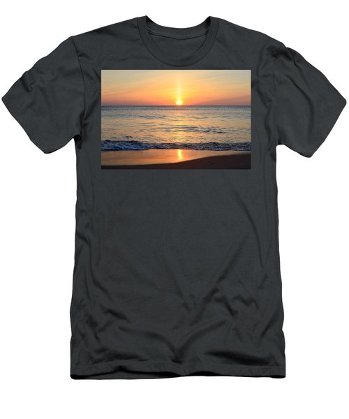 Men's T-Shirt (Athletic Fit) featuring the photograph Golden Sunrise  by Barbara Ann Bell