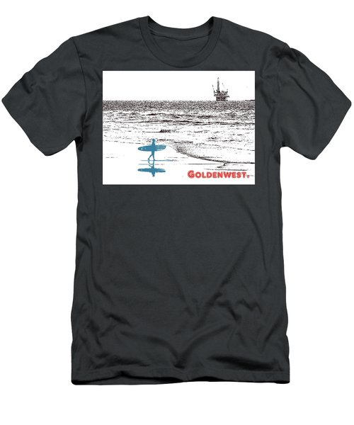 Men's T-Shirt (Slim Fit) featuring the photograph Goldenwest by Everette McMahan jr