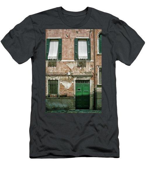 Green Door Men's T-Shirt (Athletic Fit)