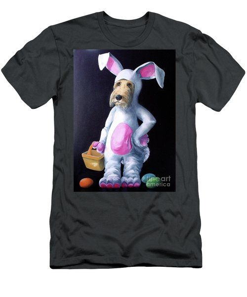 Gunther's Easter Parade Men's T-Shirt (Slim Fit) by Diane Daigle