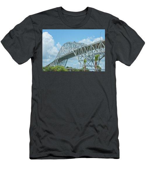Harbor Bridge Men's T-Shirt (Athletic Fit)