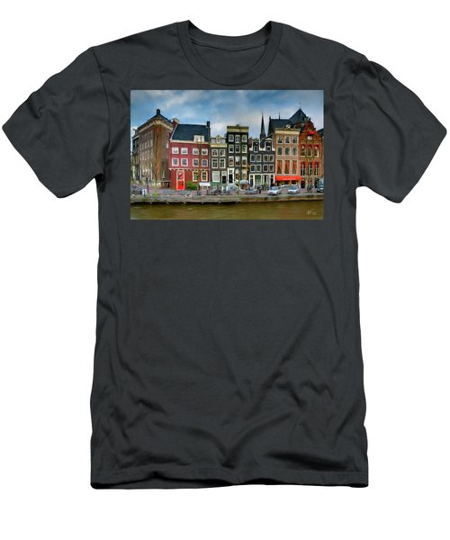 Herengracht 411. Amsterdam Men's T-Shirt (Athletic Fit)