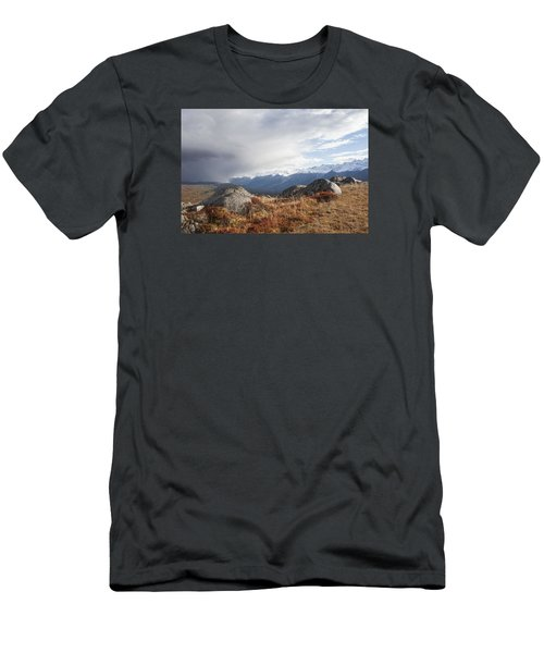 Men's T-Shirt (Slim Fit) featuring the photograph High Country In Fall by Michele Cornelius