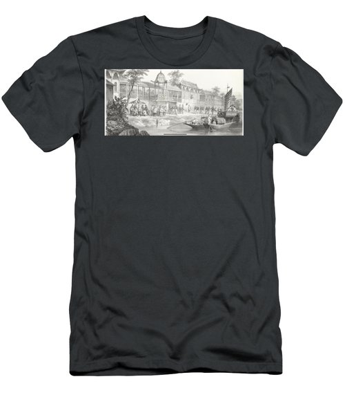 Historical And Anecdotal Shown Great Panorama Men's T-Shirt (Athletic Fit)