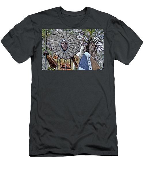 Honolulu Zoo Keeper II Men's T-Shirt (Athletic Fit)
