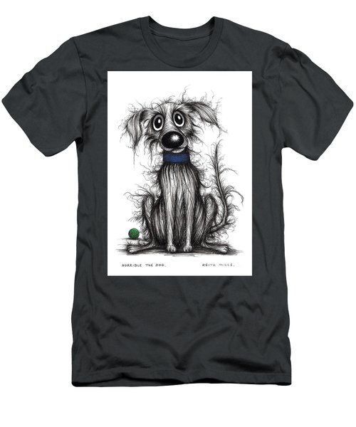 Horrible The Dog Men's T-Shirt (Athletic Fit)