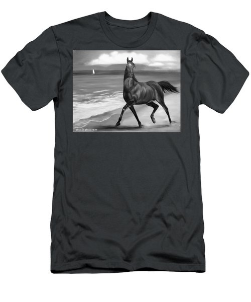 Horses In Paradise  Dance Men's T-Shirt (Athletic Fit)