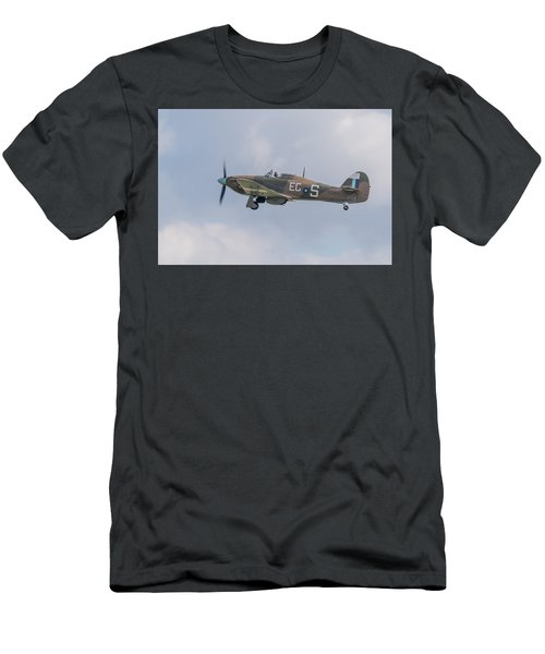 Hurricane Taking Off Men's T-Shirt (Athletic Fit)