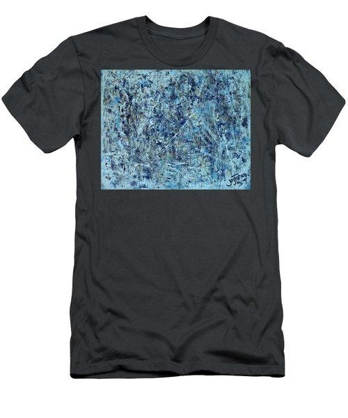 I Love Pollock Men's T-Shirt (Athletic Fit)