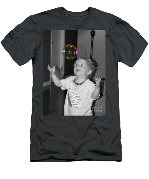 Men's T-Shirt (Slim Fit) featuring the photograph Imagine by Robert Meanor