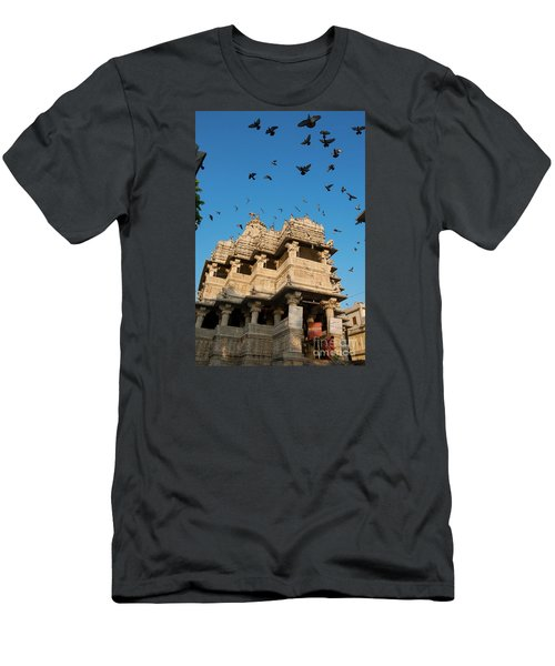 Men's T-Shirt (Athletic Fit) featuring the photograph Jagdish Temple by Yew Kwang