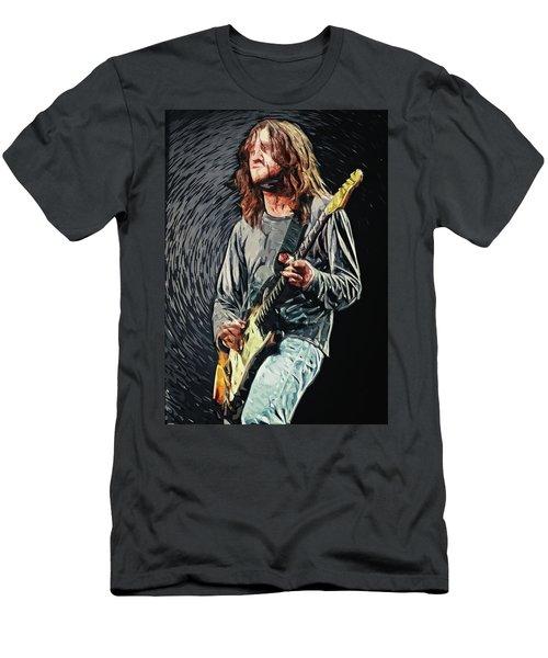 John Frusciante Men's T-Shirt (Slim Fit) by Taylan Apukovska