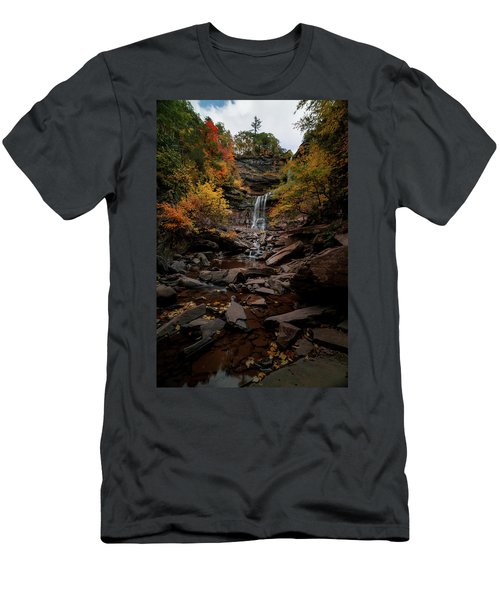 Kaaterskill Falls  Men's T-Shirt (Athletic Fit)