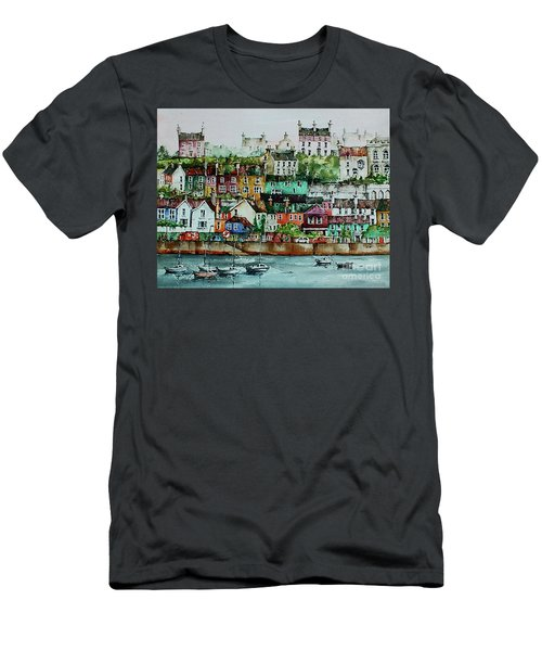 Kinsale Harbour. Wesr Cork, Men's T-Shirt (Athletic Fit)