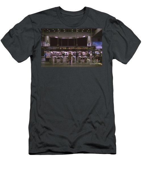 Kyoto Train Station, Japan Men's T-Shirt (Athletic Fit)