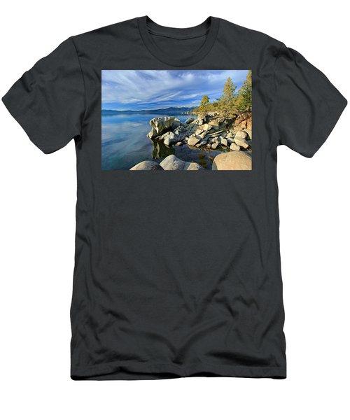 Lake Tahoe Rocks Men's T-Shirt (Athletic Fit)