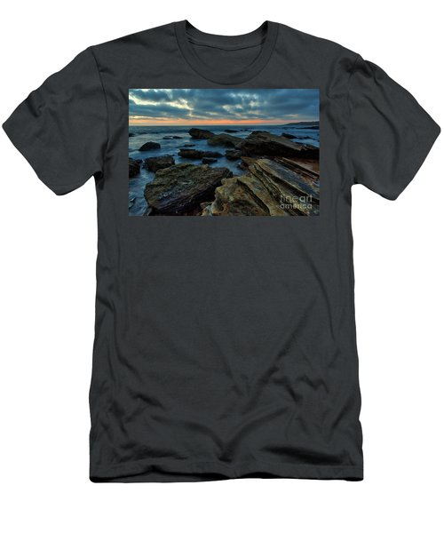 Last Light At Crystal Cove Men's T-Shirt (Athletic Fit)