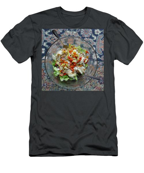 Men's T-Shirt (Athletic Fit) featuring the photograph Lets Do Lunch by Joel Deutsch