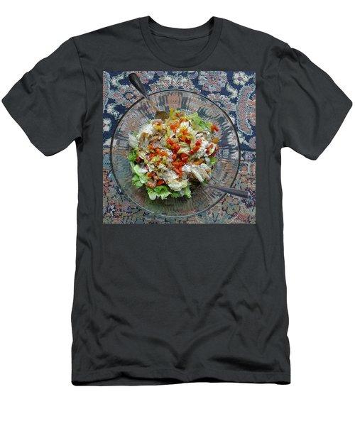 Lets Do Lunch Men's T-Shirt (Athletic Fit)