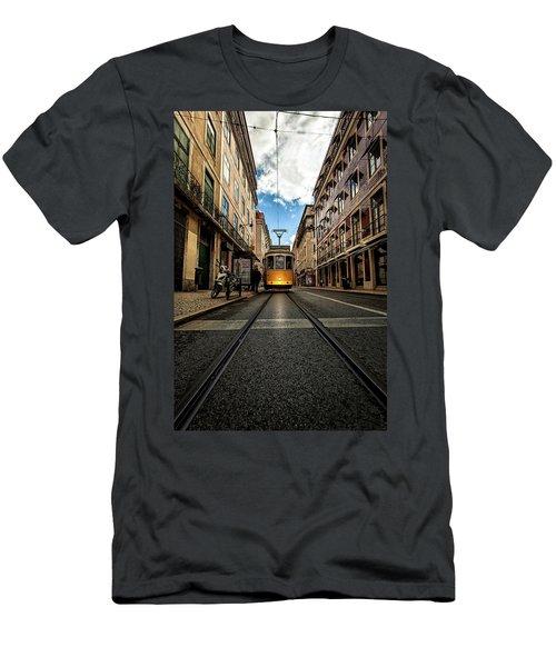 Light Men's T-Shirt (Slim Fit) by Jorge Maia