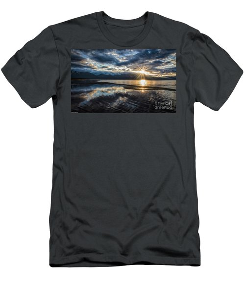 Light The Way Men's T-Shirt (Slim Fit) by Mitch Shindelbower