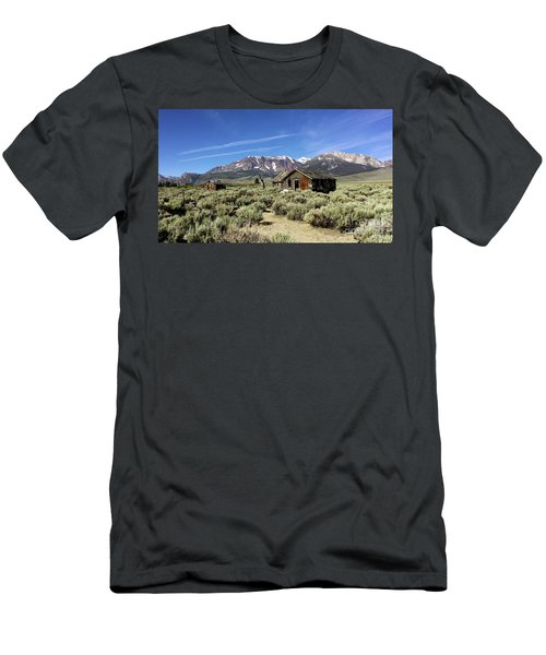 Little House Men's T-Shirt (Slim Fit) by Joseph G Holland