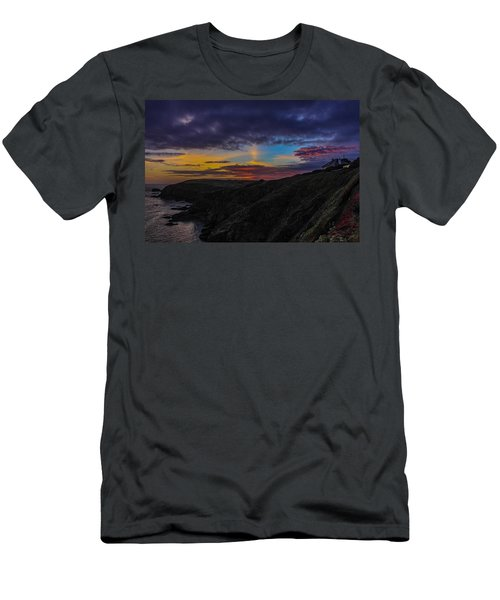 Lizard Point At Sunset  Men's T-Shirt (Athletic Fit)