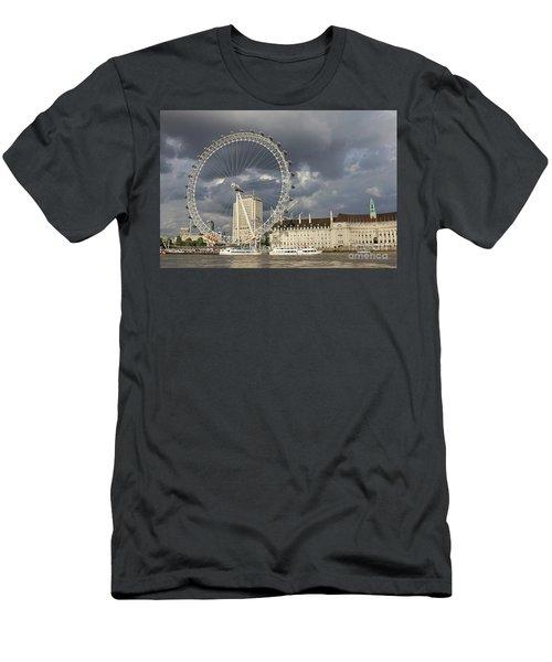 London Eye Men's T-Shirt (Athletic Fit)