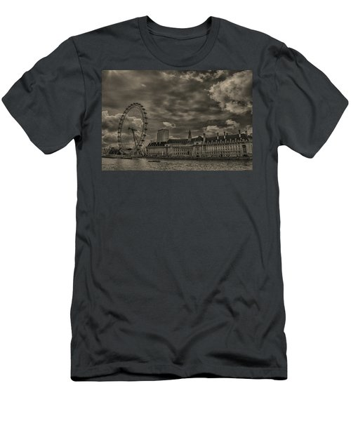 London Eye Men's T-Shirt (Slim Fit) by Martin Newman