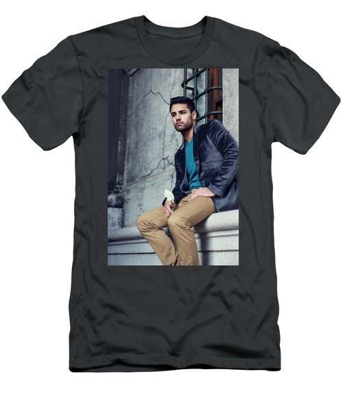 Lost Rose Men's T-Shirt (Athletic Fit)