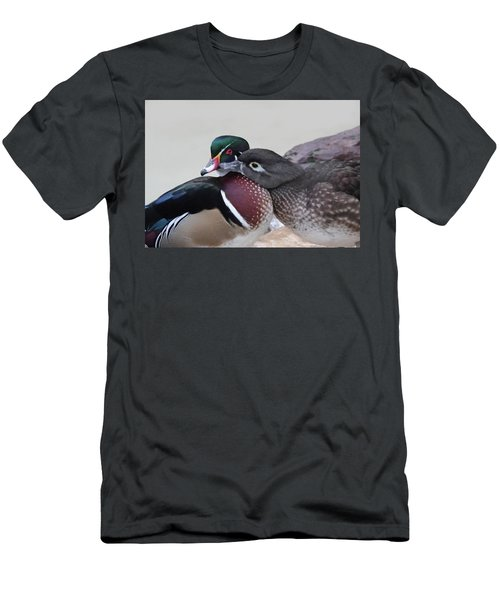 Love Ducks Men's T-Shirt (Athletic Fit)