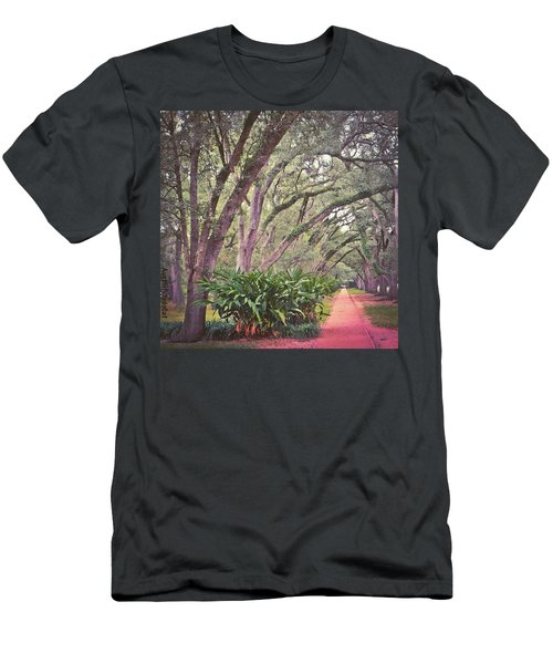 Love The #liveoak #trees And This Men's T-Shirt (Athletic Fit)