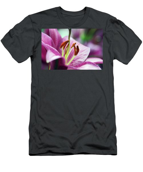 Lovely Lily Men's T-Shirt (Athletic Fit)