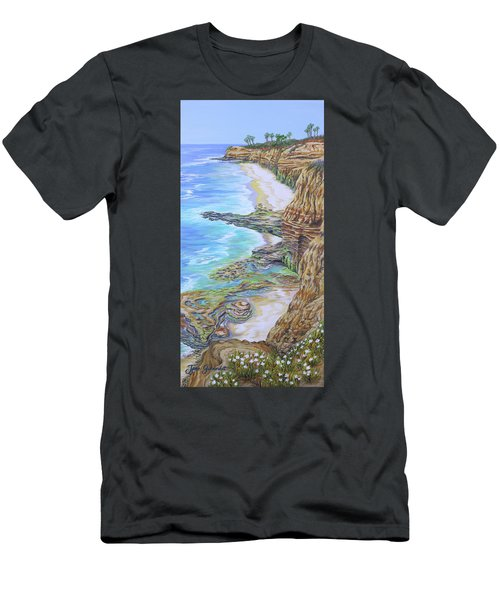 Low Tide Sunset Cliffs Men's T-Shirt (Athletic Fit)